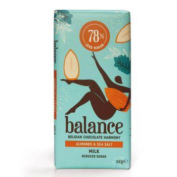 Balance Vollmilch Mandel Salz 100g