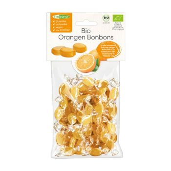 Frusano Bio Orangen Bonbons 85g