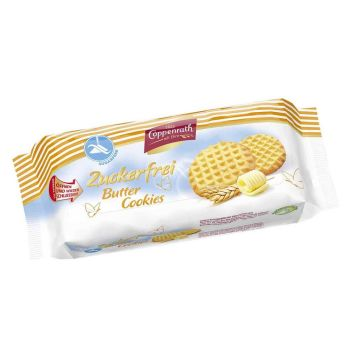Butter Cookies zuckerfrei 200g