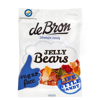de Bron Jelly Bears zuckerfrei 100g