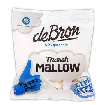 de Bron Marshmallows zuckerfrei 75g