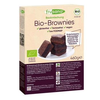 Frusano Backmischung Brownies 460g
