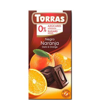 Torras Zartbitter Orange 75g